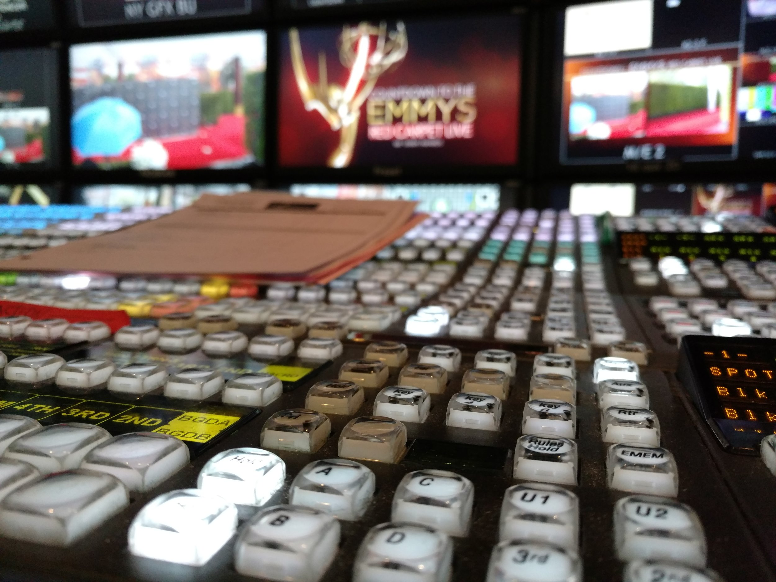 Countdown to the Emmys, Red Carpet Live -   Inside NEP's Red/Black mobile unit