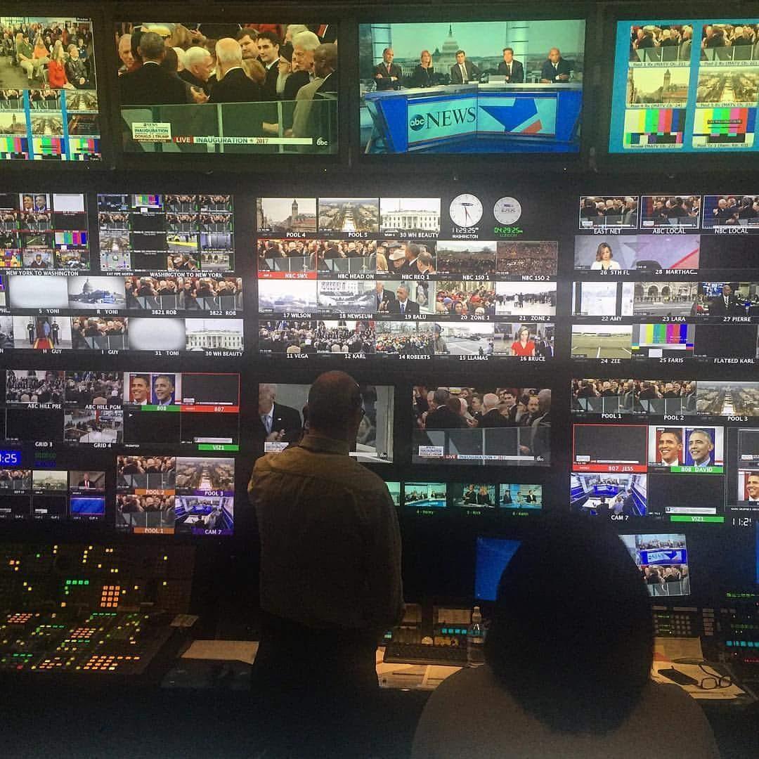 2019 ABC's Inauguration CONTROL ROOM, WASHINGTON D.C.