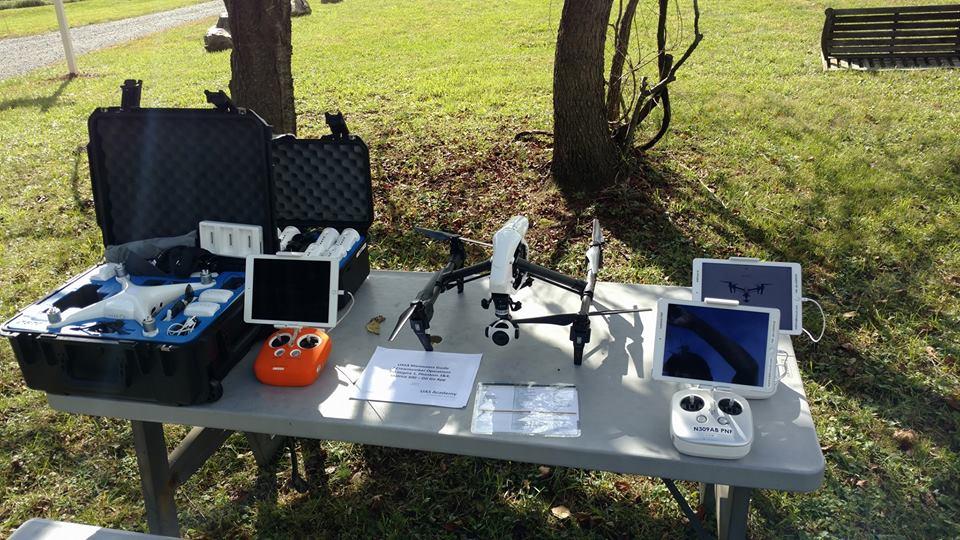 UAS AIRCRAFT Preflight Setup