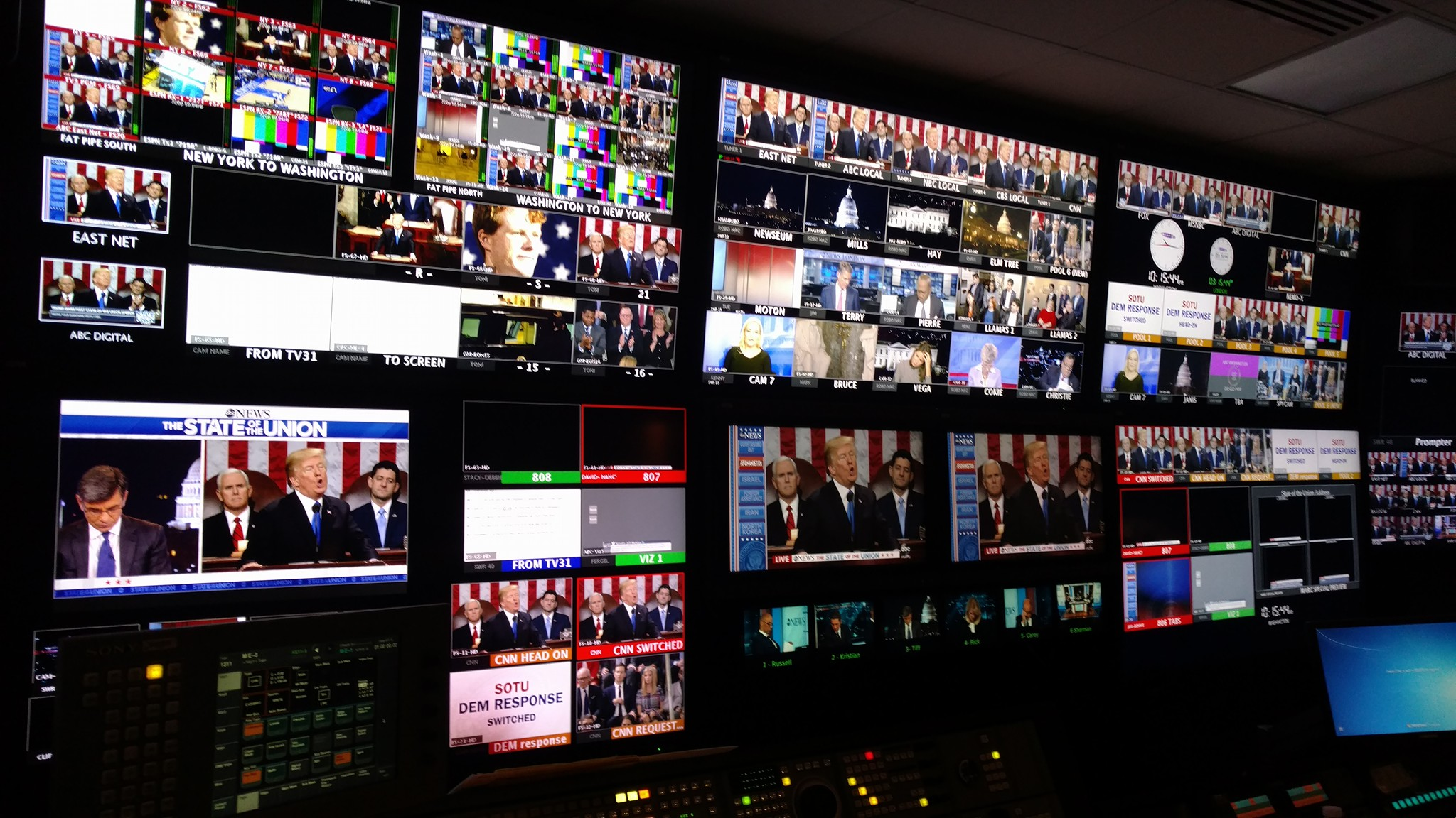 ABC NEWS State of The Union Coverage