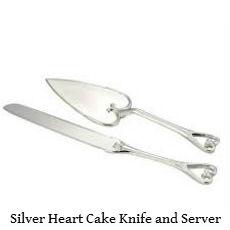 Silver heart Cake knife and server set.jpg