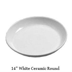 American Metalcraft White ceramic round tray text.jpg