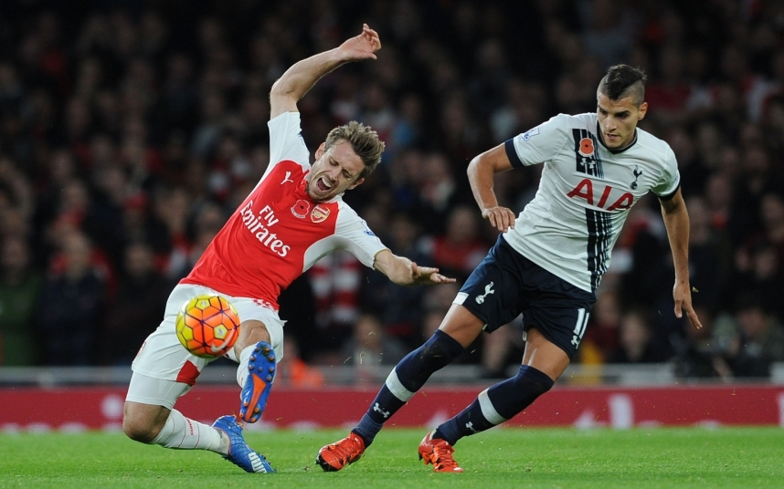 Erik Lamela has attempted more tackles (112) than any other Tottenham player this season.