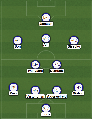 Tottenham XI