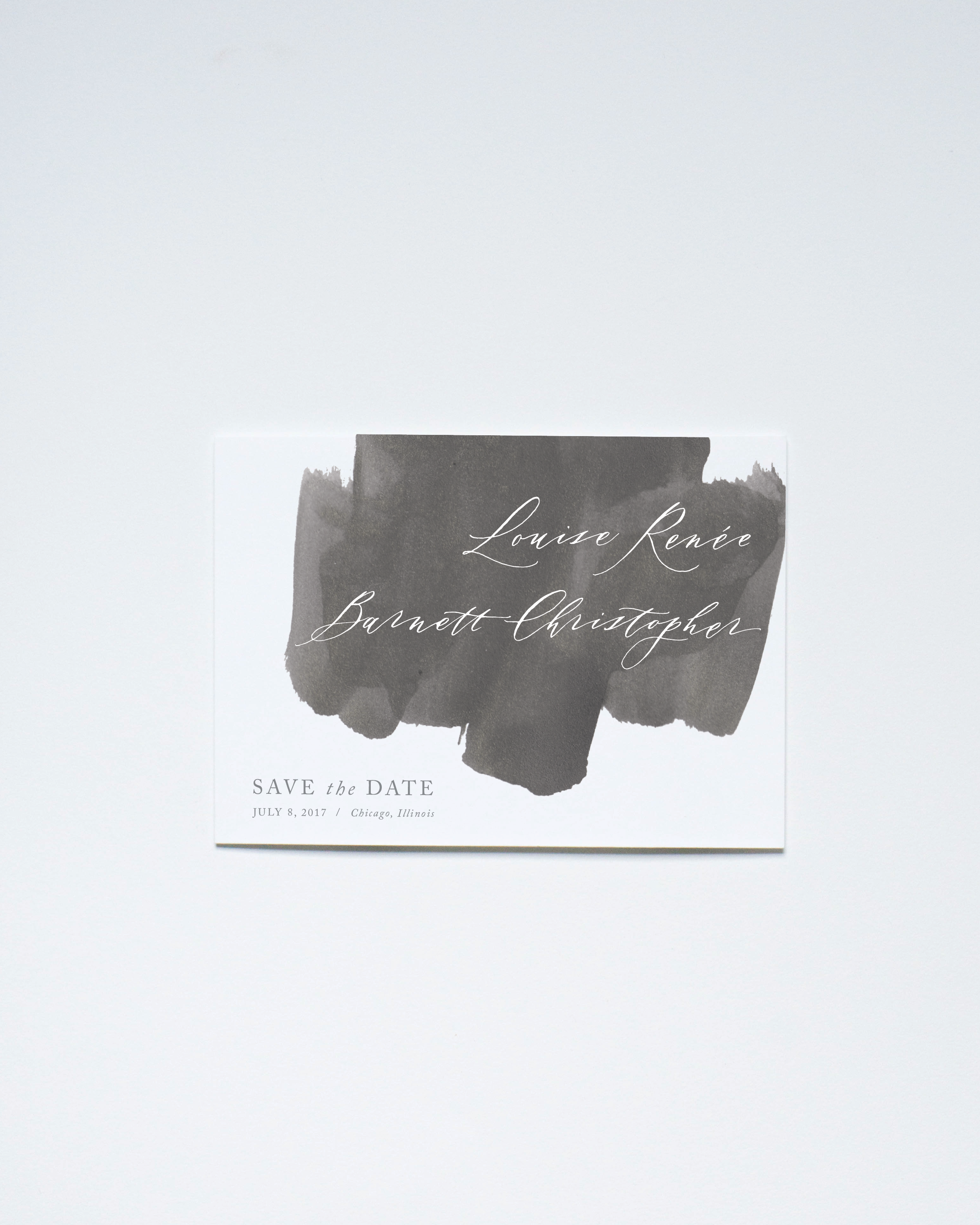 CHARCOAL WASH SAVE THE DATE