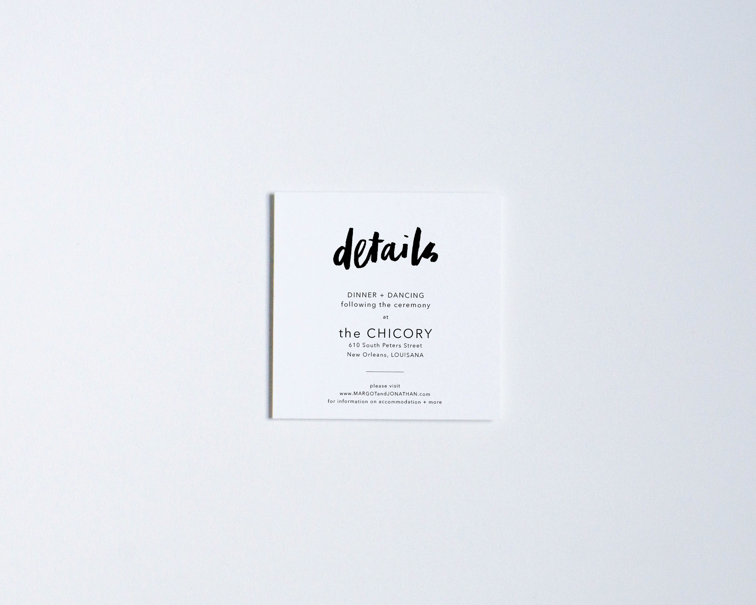 BLANK CANVAS LARGE DETAILS CARD