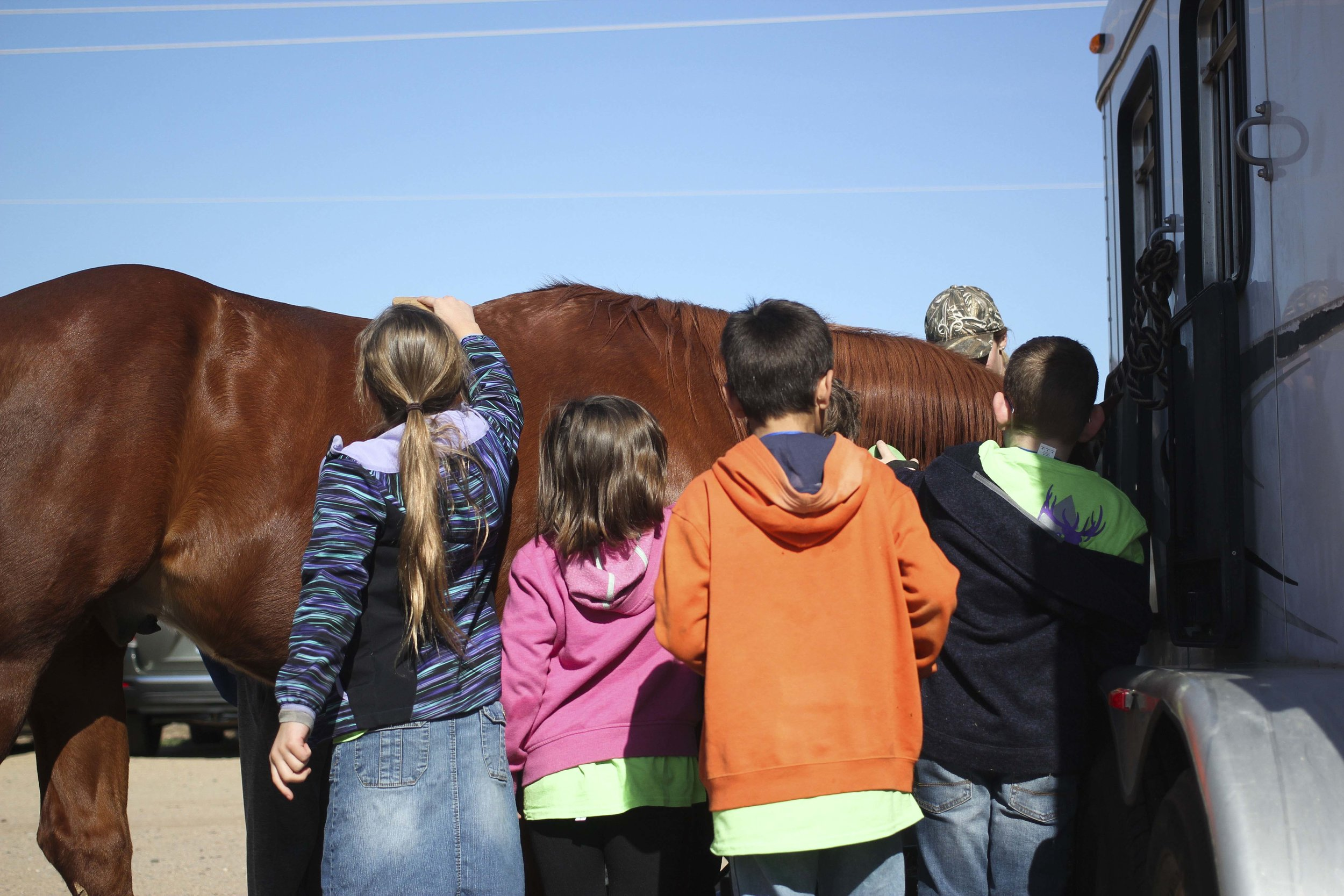 Spring Break EmpoweRanch Day Camps give kids ages 6-17 a unique, inclusive hands-on experience with horses, gardening, outdoor recreation, and more!