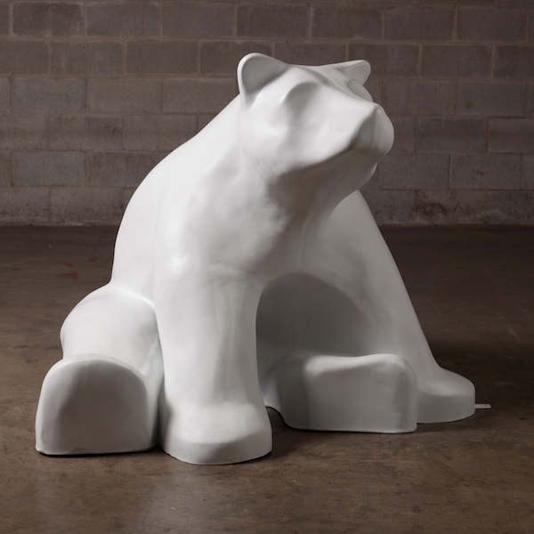 Sitting Bear (side view)