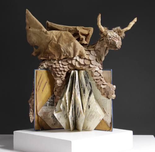 2104 Best of Show and 1st Place Sculptor Abigail Glover. Drakon. McCutcheon H.S.