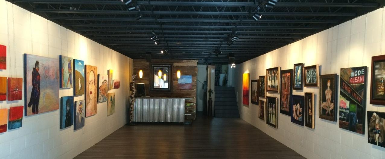 Dave & Pauli's Art Emporium is located at 218 North Hamilton Street in historic, downtown Dalton, Georgia.