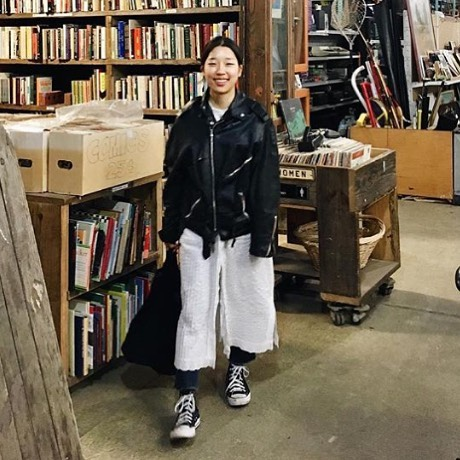 @haery.kim #vintageleatherjacket #1970s #belein #fashionable #nyc #brooklyn #vintageclothing #vintagelovers