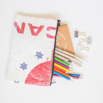 Dot Products , The Haiti Pencil Case – Office and school supplies that provide a half day of education for a child in Mexico, DRC and Tanzania for every product purchased.