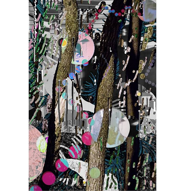 Jungle moods. . . . . . . . #collage #photocollage #photoshop #photography #photo #landscape #abstractphotography #abstractart #art #artistsoninstagram #contemporaryphotography #contemporaryart #digitalart