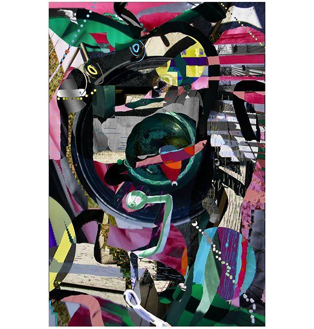 'Looking Over the Balcony' & 'Roshi Eating Sticks, Amelia Eating Rosemary' . . . . . . #collage #digital #digitalart #digitalpainting #digitalcollage #digitalartist #photography #photocollage #photo #photoshop #photographer #photos #naturephotography #art #artist #artwork #contemporaryphotography #contemporaryart #contemporarycollage #landscape #abstractphotography #abstractlandscape #abstractart #texture #textures #textureart
