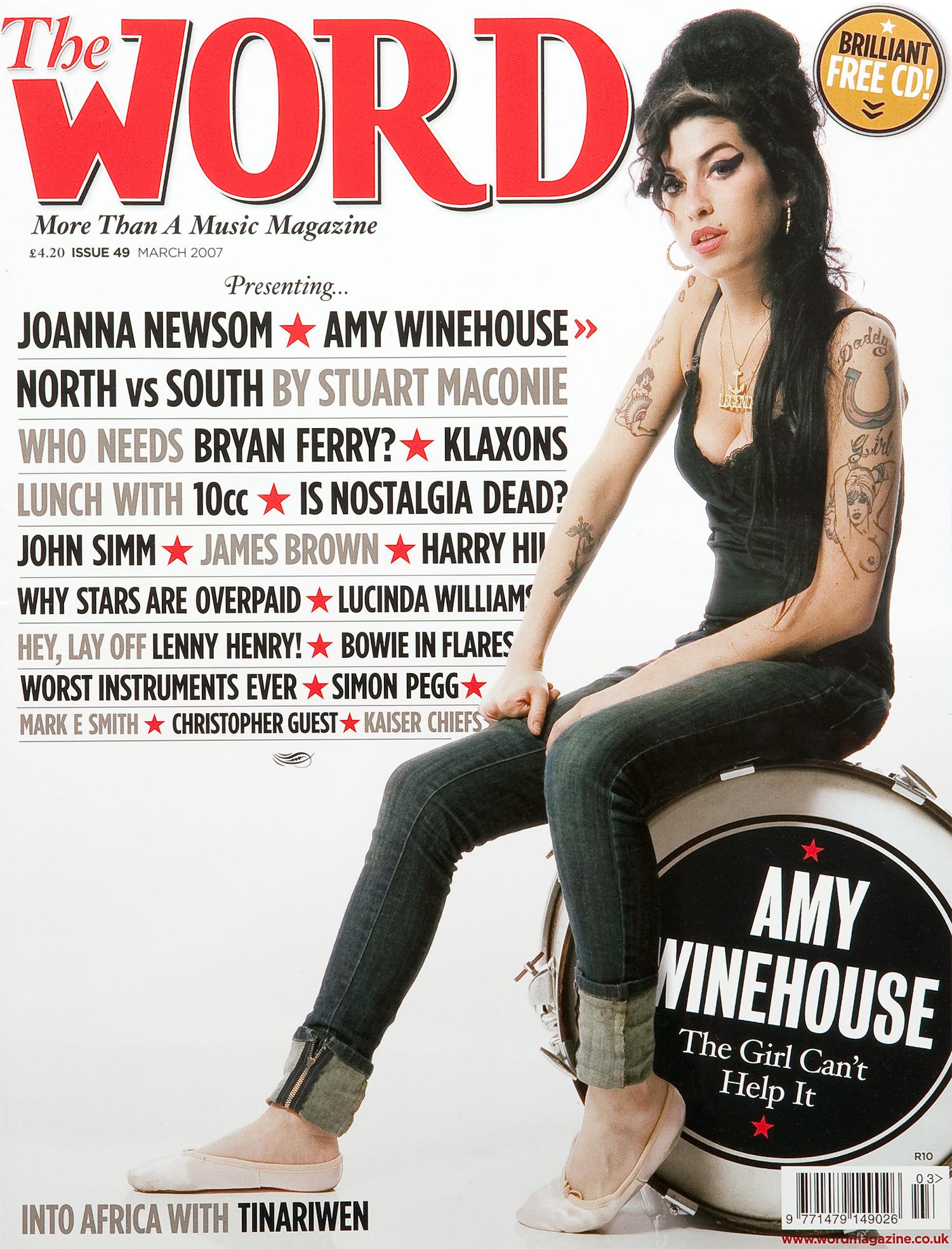 Amy Winehouse, The Word Magazine.