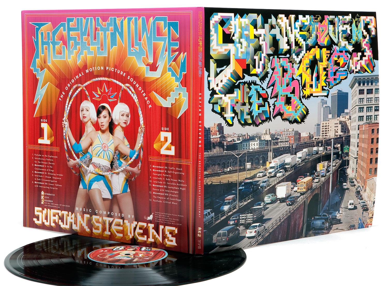 """Sufjan Stevens's album """"The BQE""""."""