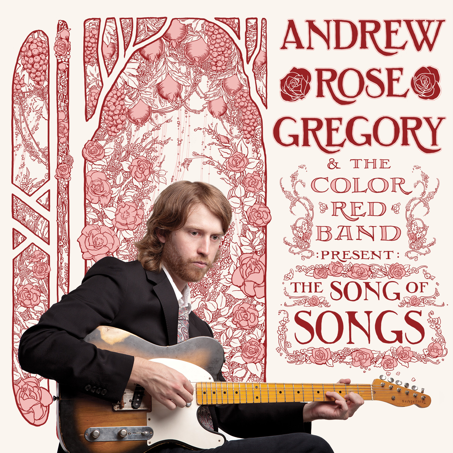 """Andrew Rose Gregory and the Color Red Band's album """"The Song of Songs"""""""