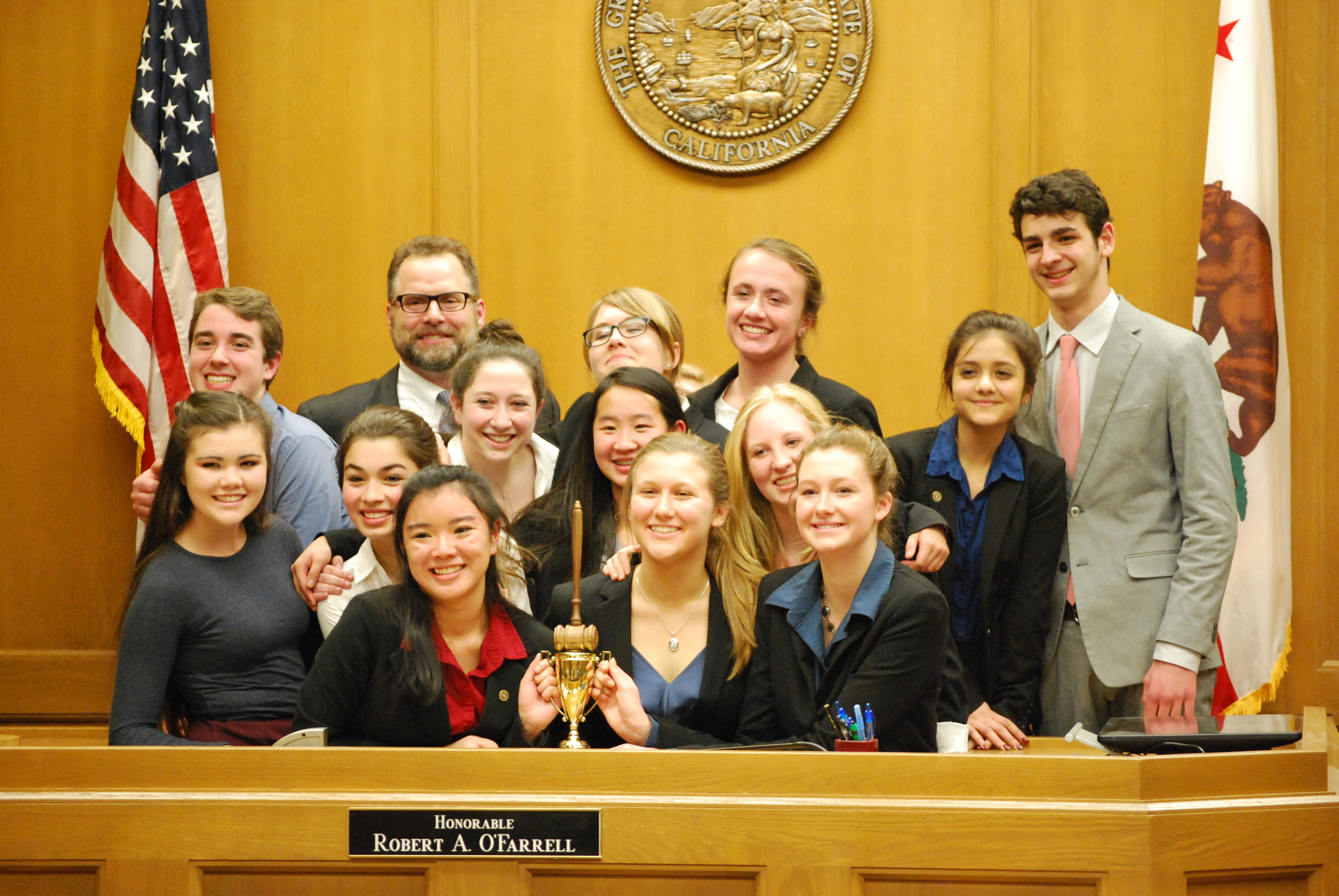Carmel High Mock Trial County Winners