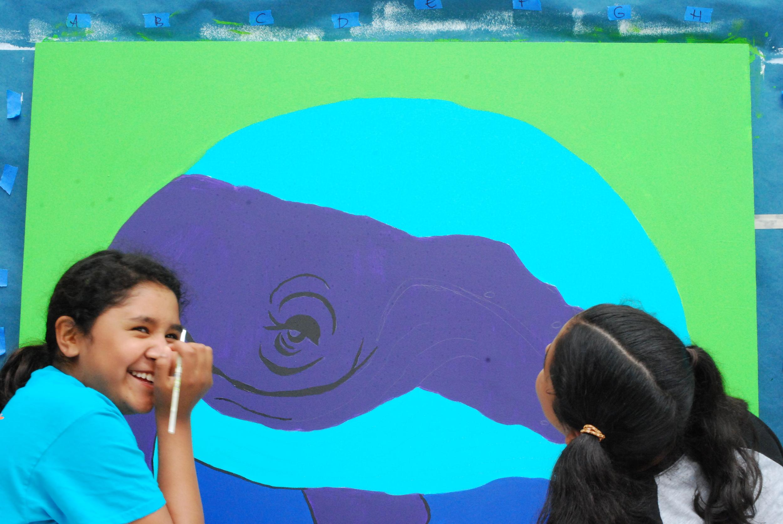 Mural Painting Camp with Amanda Bensel