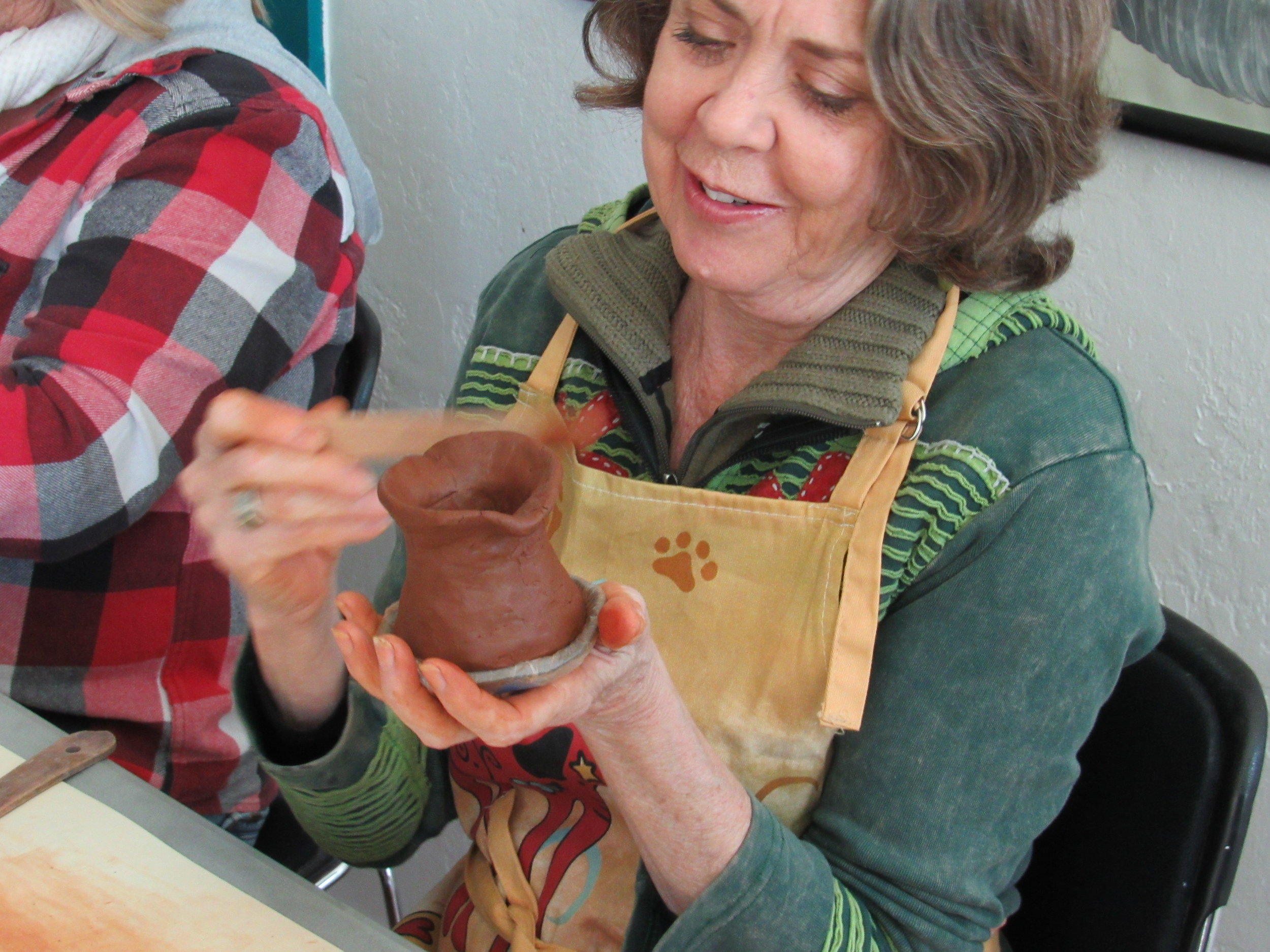 Southwest Clay Coil Pottery with Dana Goforth