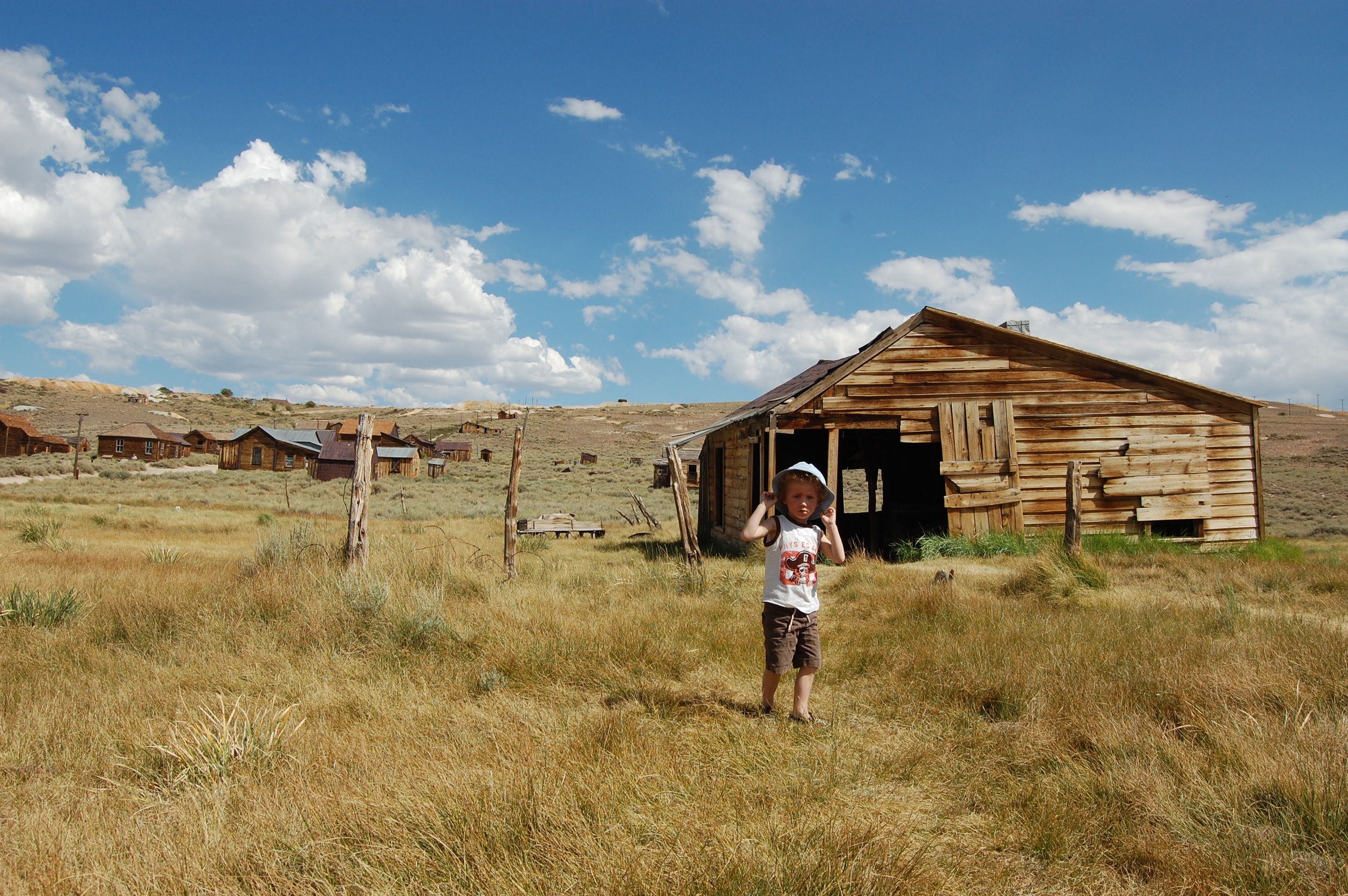 The abandoned mining town of Bodie, California