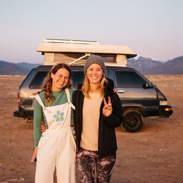 The other day, I was interviewed on @newscpr about the traveling solo, finding community and perceptions from family + friends. A lot has happened since that day I lived in a camper trailer four years ago. It was isolating because I didn't know anyone else living small. The first couple I met was Kit + JR of @idletheorybus and it inspired me to eventually hop in a van by myself. Hearing their stories propelled me to work on a farm for a season and explore partnerships with outdoor brands. And as our friendship grew, so did the van community as a whole. @womenontheroad was a space where we had a voice to share our joys and struggles. @vanlifediaries gatherings brought us all together, allowing us to have a family and a place to share our tips + tricks from the road. Today, we are all still figuring this thing out—how to navigate traveling, working remotely and all of the communities we are a part of.  I'm grateful for all the people who have been a part of this journey of mine since this account started. (if you want to hear the radio interview, visit the link in my bio) 🎤 You can also join Kit + I tonight at @peacelovebehippy for a vanlife happy hour from 5-9 pm. 📷 @galestraub