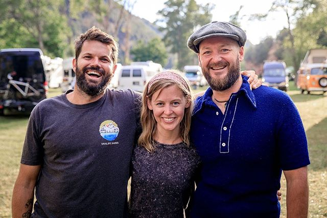 So much love for these two humans who have shaped me into who I am today. @vanlifediaries started as an idea over coffee five years and now it's an international community. We organize gatherings and meetups around the world, share stories, co-authored a book and helped produce a documentary. Who knows where we're headed next, but I know wherever we end up, it will always be doing something we're passionate about doing. It's been so special having Jared + Jonny here in the states recently. In the past, we only had short stints of time together and this was the first time we really got to know each other through our highs and lows. I can't wait to see what the future holds 💫 📷 @jrswitchgrass