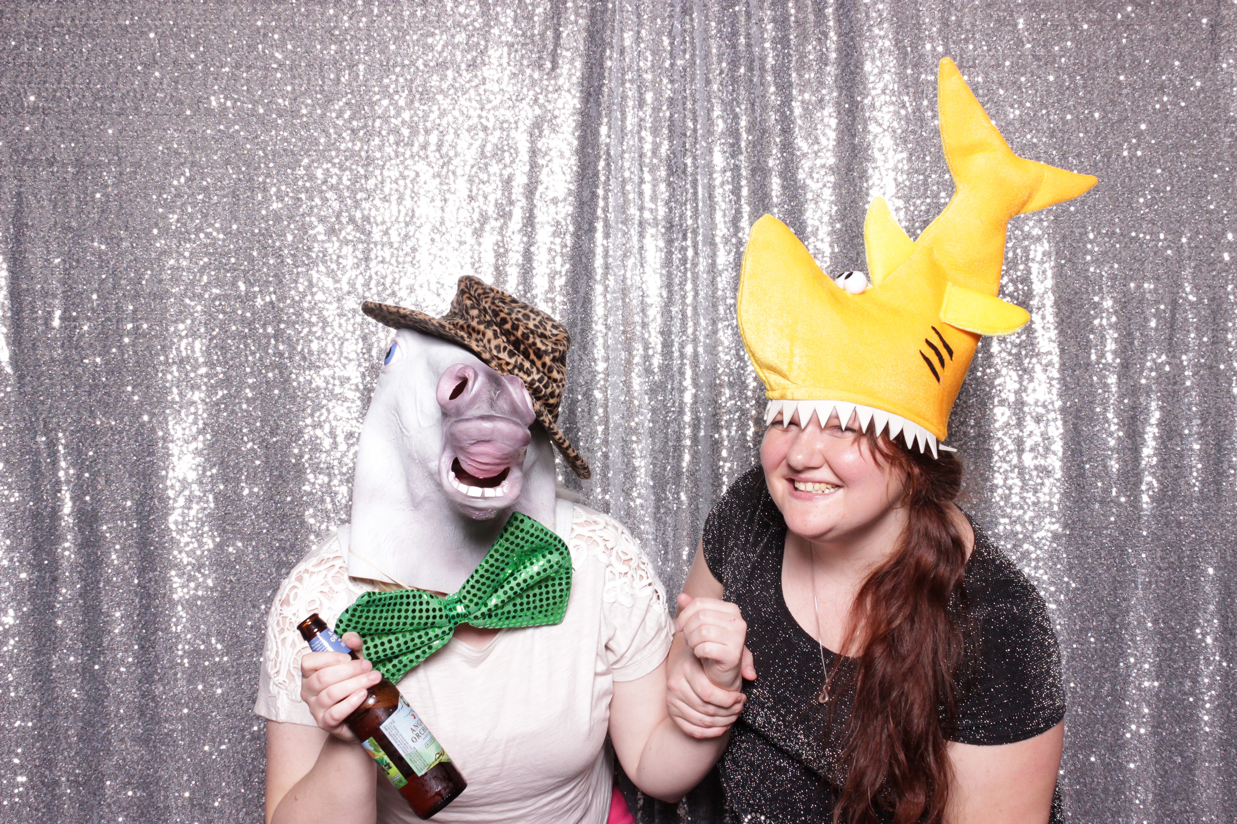 chico-california-photo-booth-rental-holiday-party-valley-oak-shark