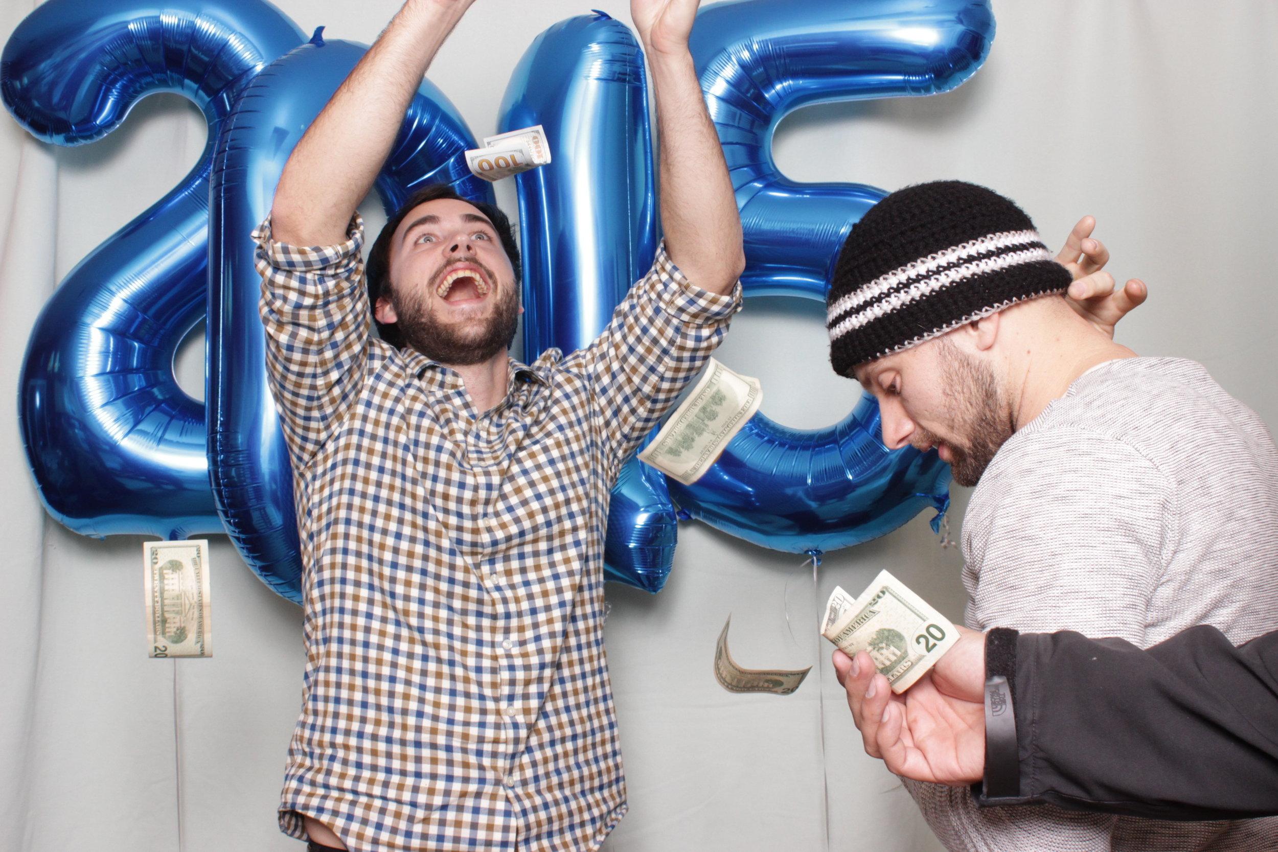 photo-booth-rental-in-chico-california-new-years-party-raining-money-make-it-rain