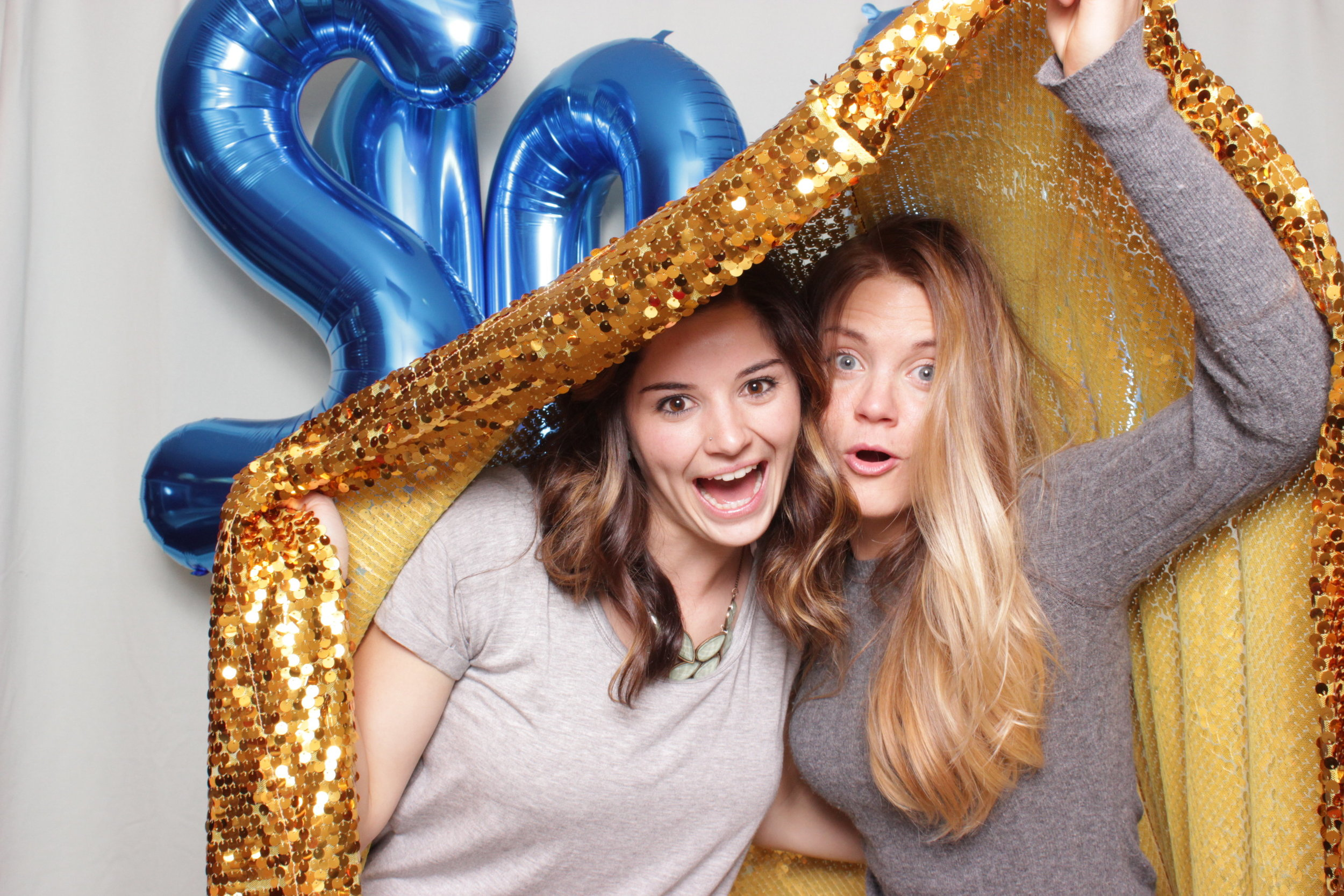 Getting creative with our gold sequins backdrop, love it!