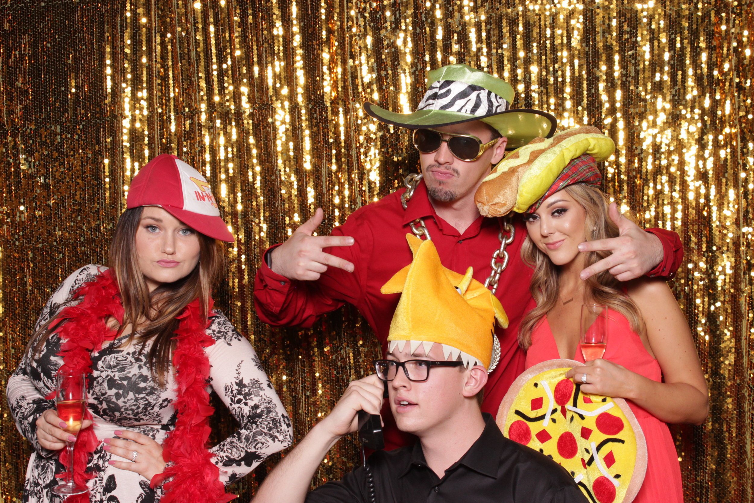 photo-booths-in-chico-rental-wedding-gold
