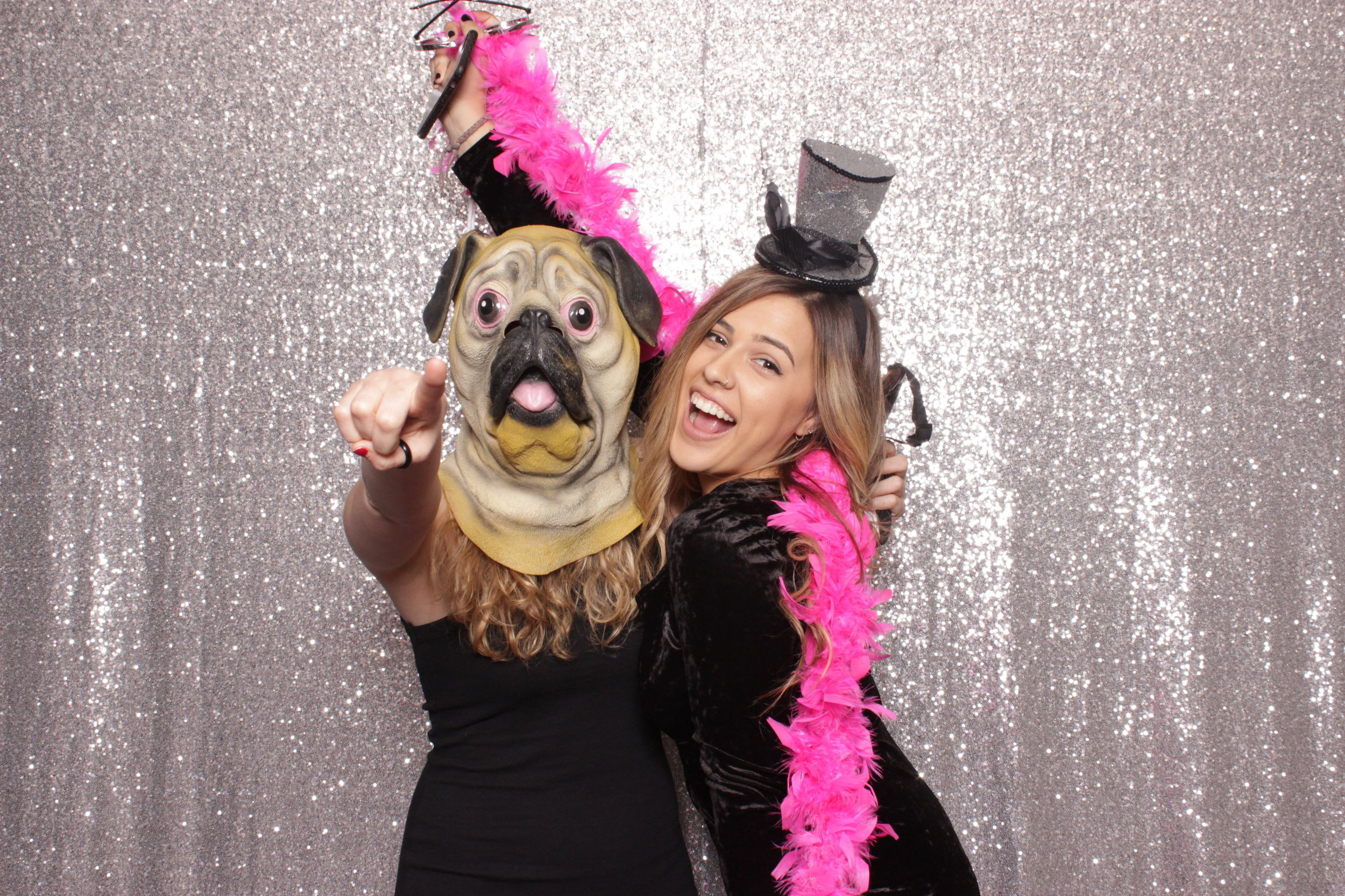 Chico-photo-booth-rental-with-masks