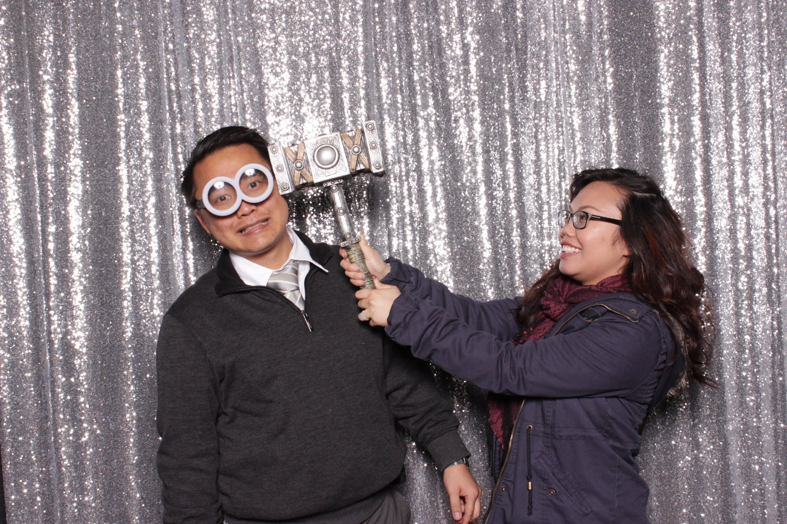 chico-bridal-show-photo-booth-thor-hammer