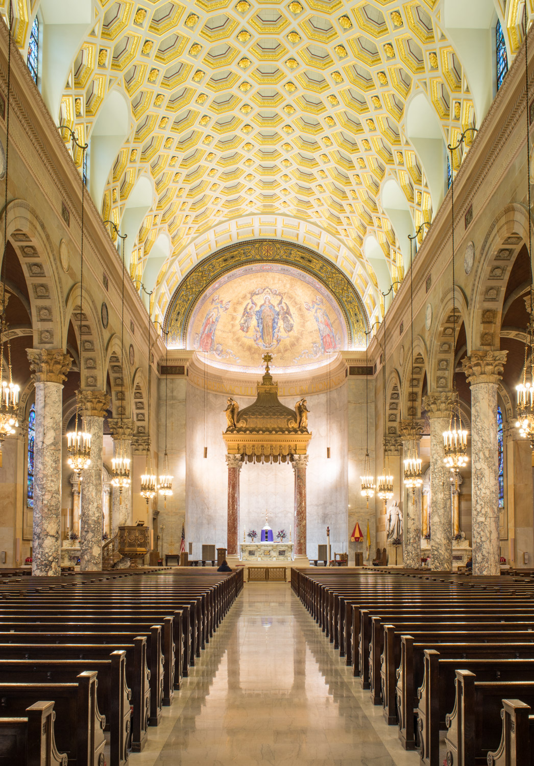 The Basilica of the Immaculate Conception