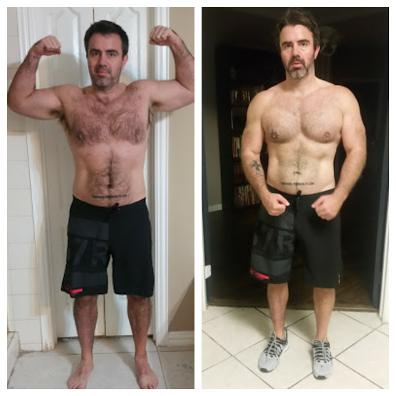 ELI COOPER  I've been through two of Taylor's 12 week programs and it has been the best investment I've ever made for my personal fitness goals. I began her programs in February 2016 at 201 pounds and dropped to 181 in August. My pant size dropped from 36 to 34 and my wife thinks I need to go down another size. The last time I weighed 180 I was training for a marathon and had no muscle mass. With Taylor's program, I dropped weight and increased mass. At almost 45, I truly feel I'm in the best shape of my life.   My biggest takeaway from these programs is the meal plan. I ate healthy meals five or six times a day. Taylor's meal plan showed me I wasn't correctly fueling my workouts or post workouts. Grocery shopping, meal prepping, and making dinner has never been so easy.  Taylor's workouts are ruthless. Through the first 12 weeks I never finished a workout in the hour and half I give myself each morning. My butt was kicked every morning but the workouts are fun, challenging, and constantly changing. I can't emphasize enough how nice it is to have a custom workout plan sent to my phone and all I have to do is put in the effort.  Thank you, Taylor. I really am taking away life lessons from these programs and I'm looking forward to the next 12 weeks.