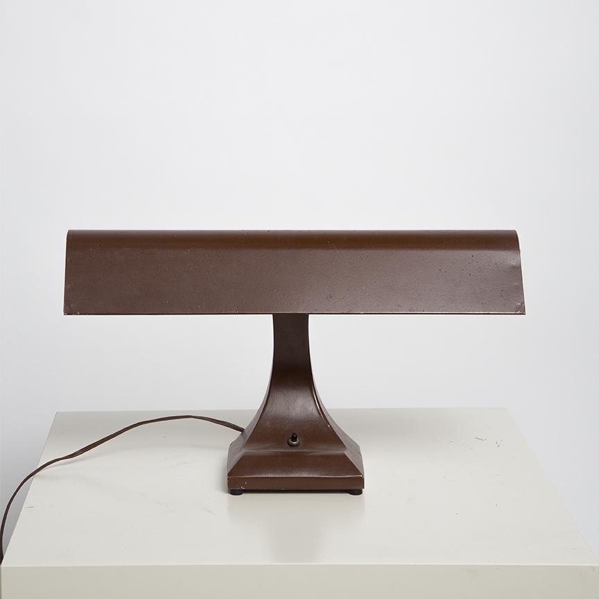 Vintage Brown Desk Lamp