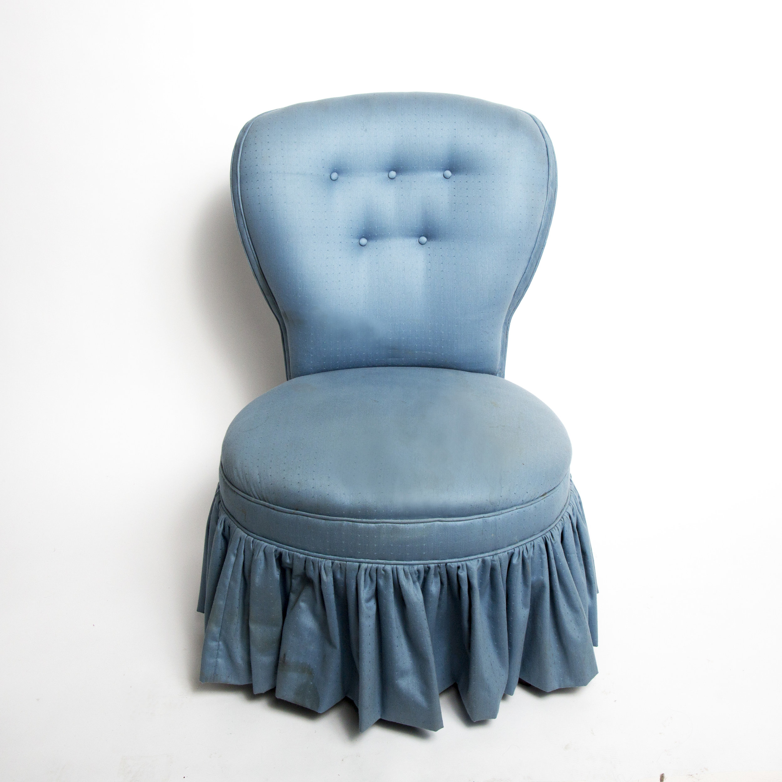 Blue Vintage Style Chair