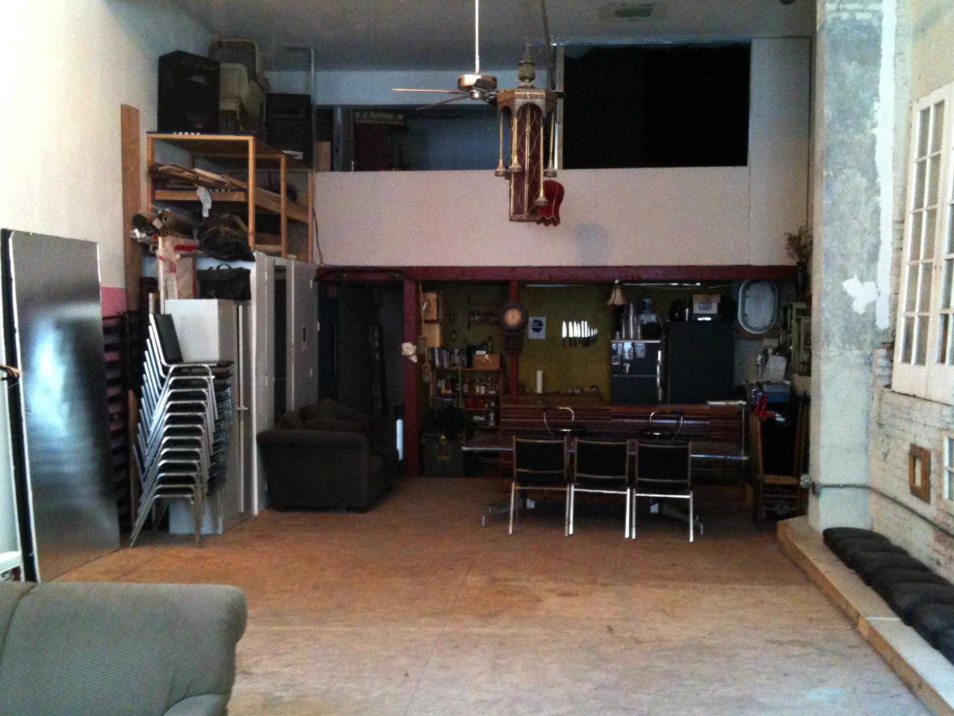 Forgotten Works Studio Kitchen