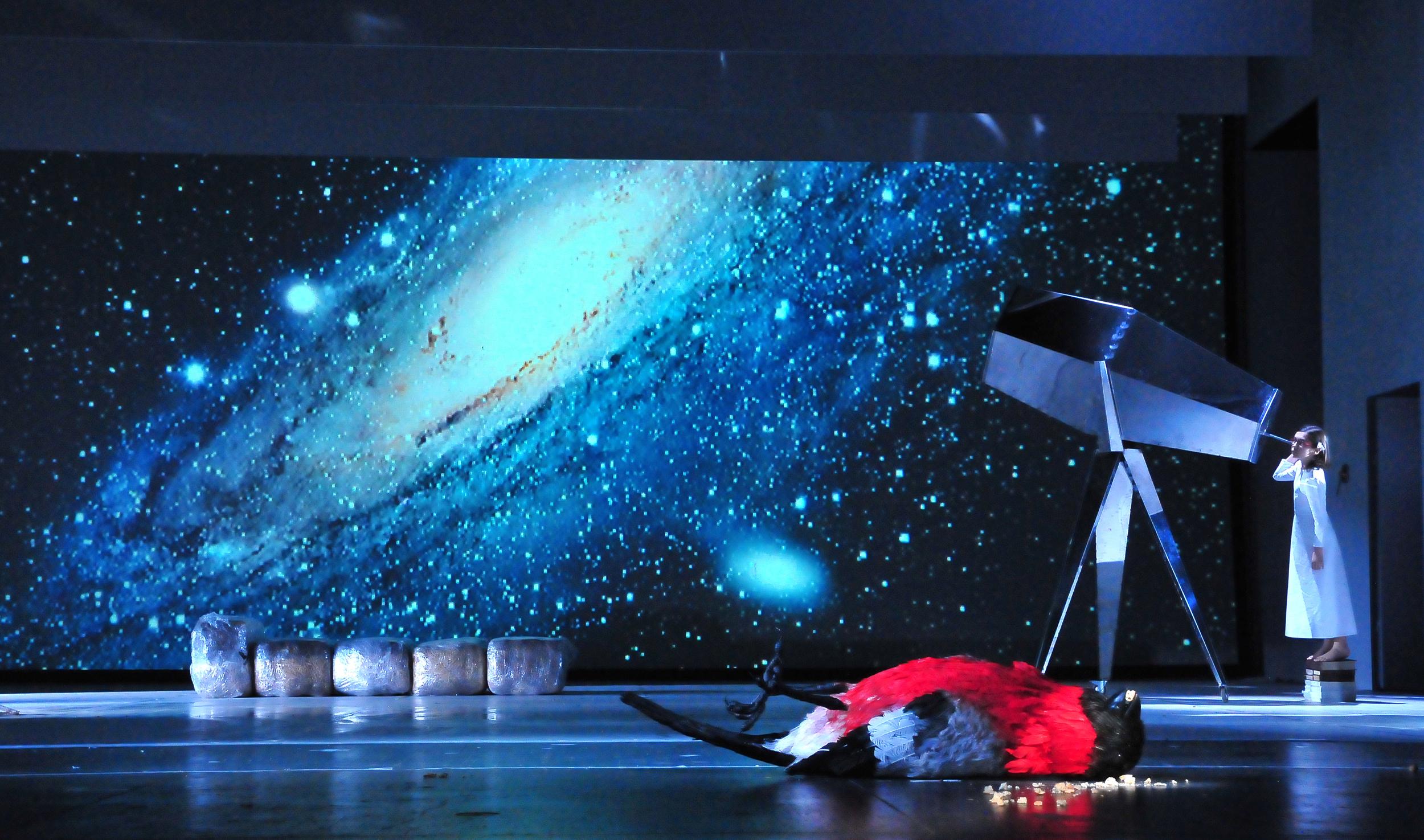 Galaktisches Bildertheater © Daniel Zholdak
