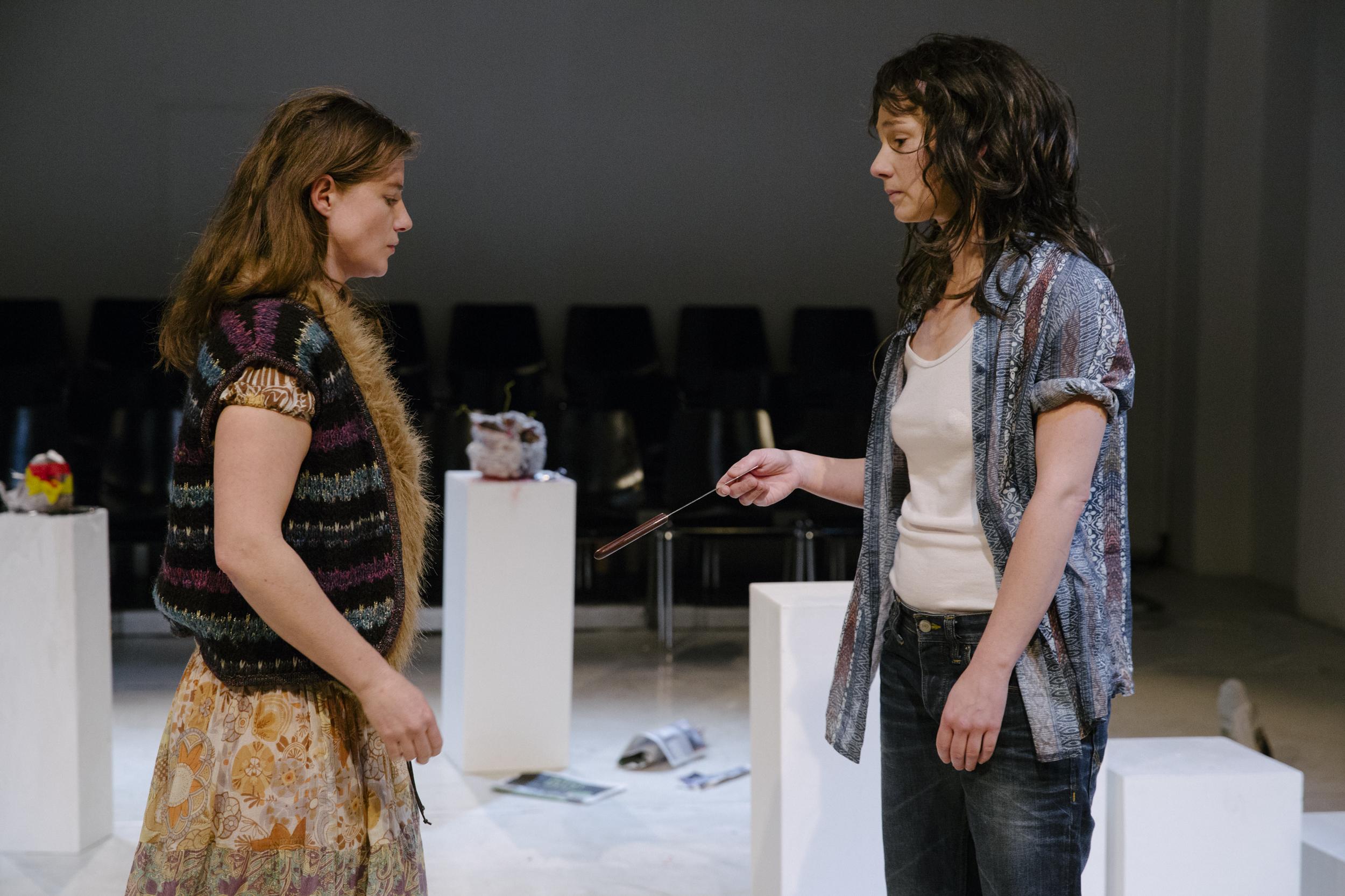 Michaela Schausberger und Hanna Binder © Nicole Viktorik