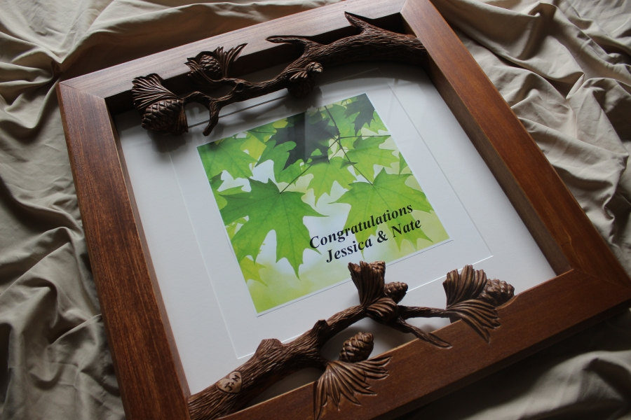 Fine Art Frames hand carved by Scott
