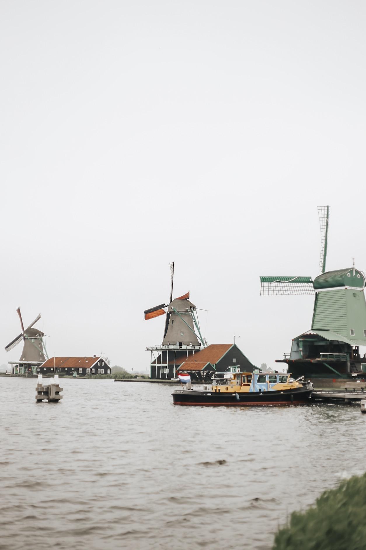 Windmills at Zaanse Schans