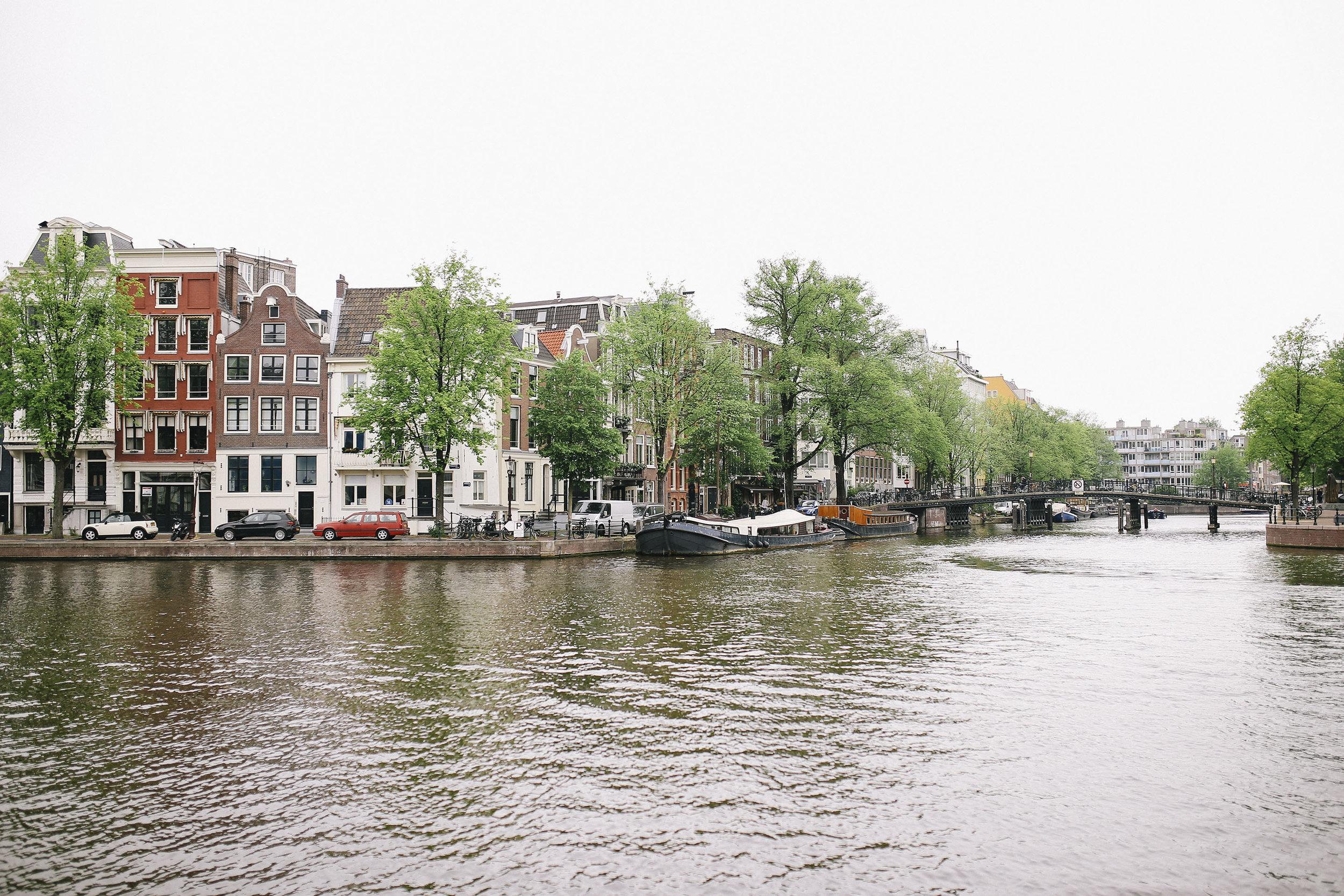 Back in Amsterdam