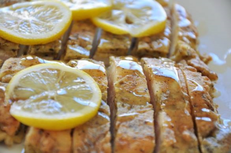 Honey Lemon Chicken Cutlets