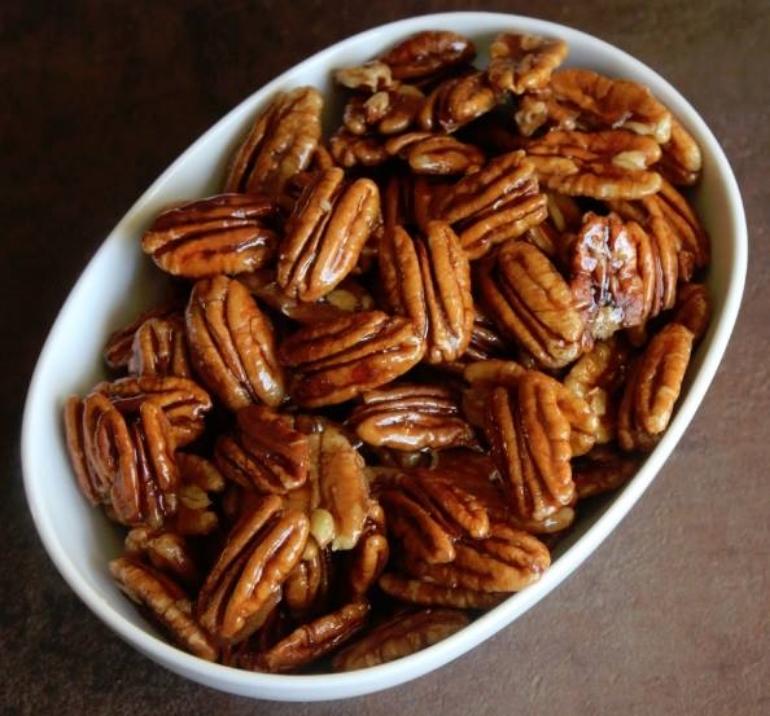 Honey Glazed Pecans