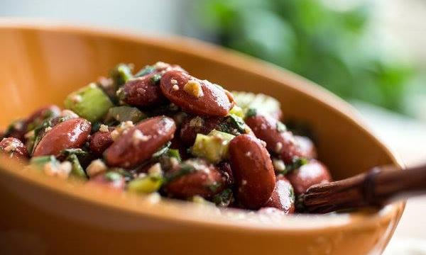 bean and cheese salad