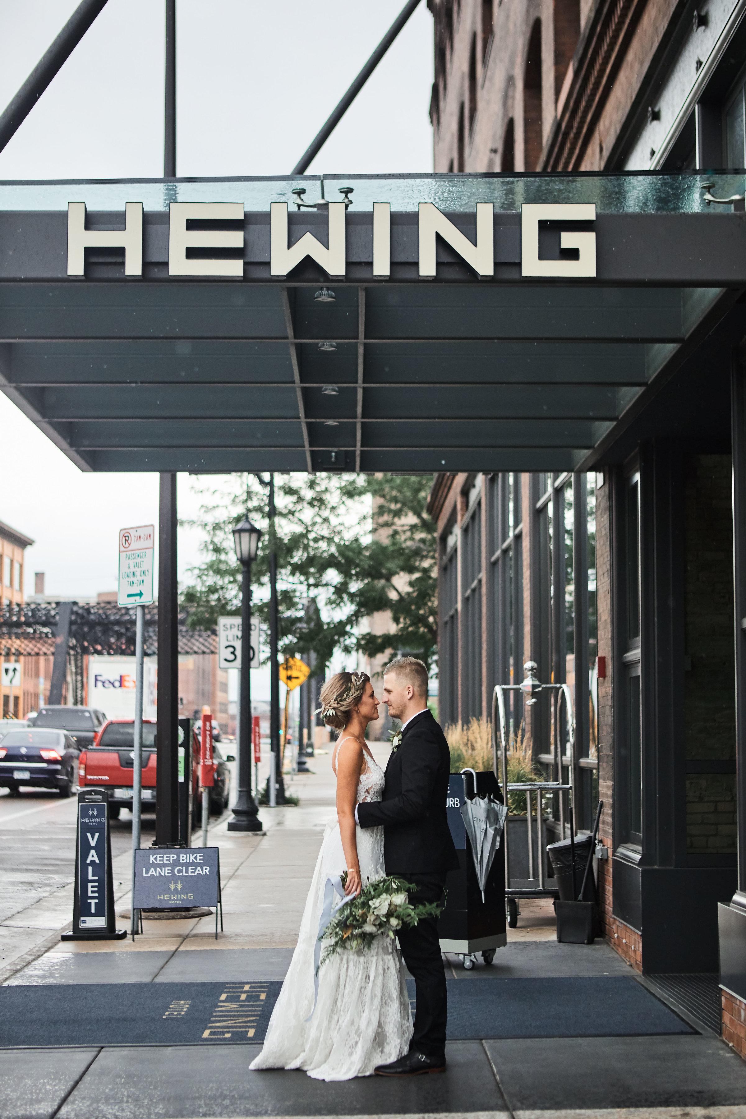 Hewing hotel wedding