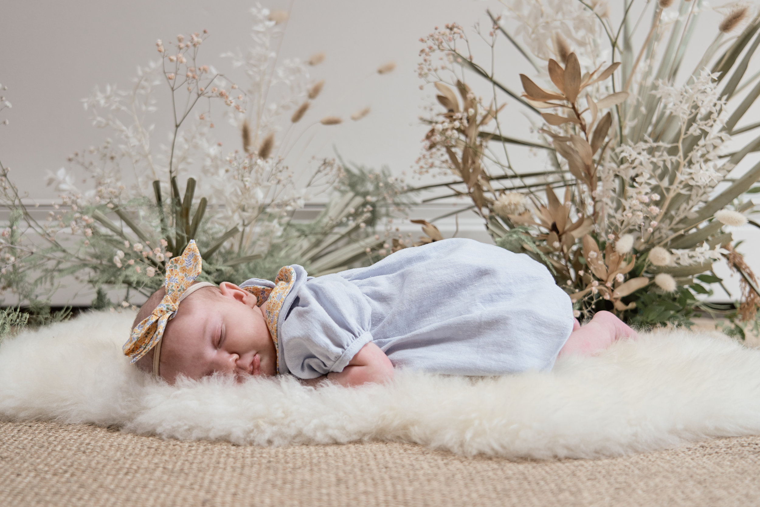 one month baby photoshoot