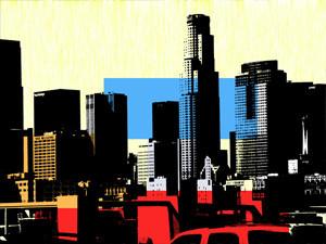 Amy's Los Angeles Skyline print