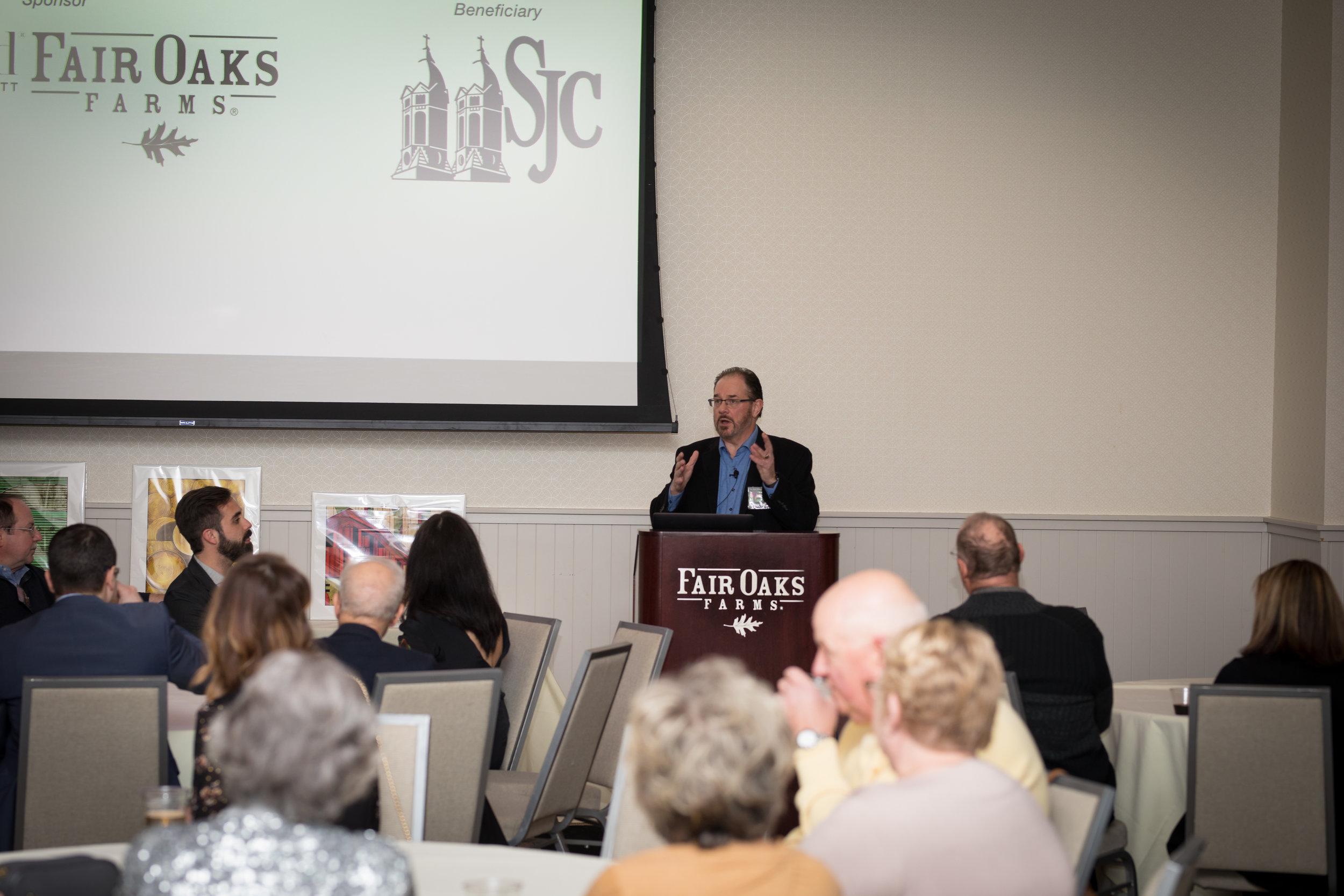 Michael McCall hosting Art of Hospitality